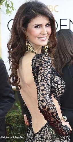 Micheline Etkin Golden Globes 2014