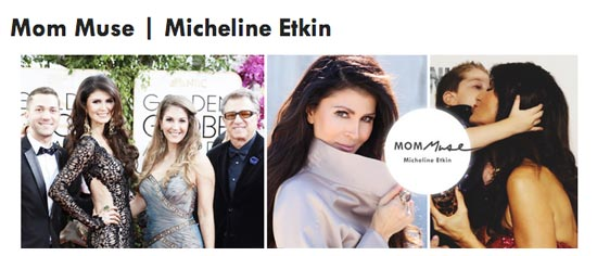 Micheline featured in Mom Muse