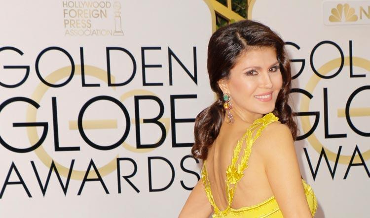 Micheline Etkin Golden Globes 2016